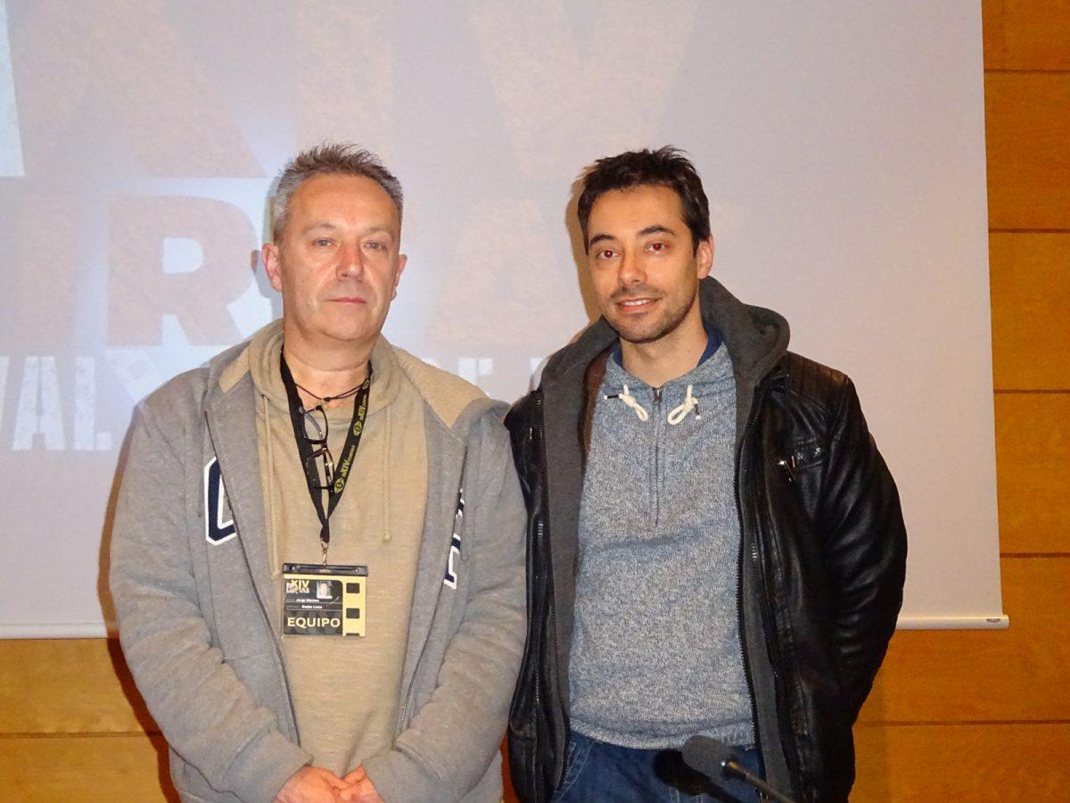 Jorge Godás e Óscar Doviso.