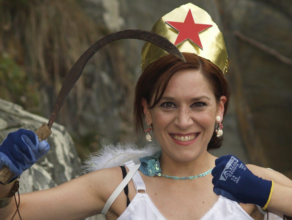 A actriz galega Isabel Risco.