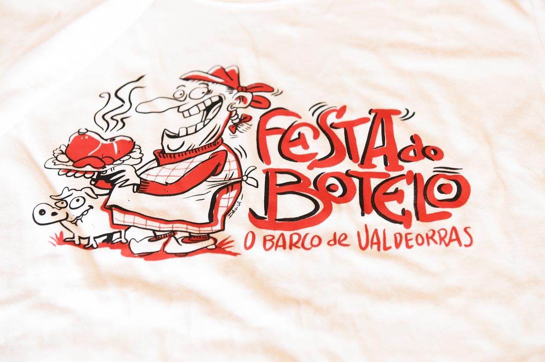 Deseño das camisetas promocionais que se porán á venda o sábado 21 de xaneiro no pavillón de Calabagueiros.