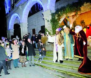 Photo of Os Reis Magos visitan Ourense