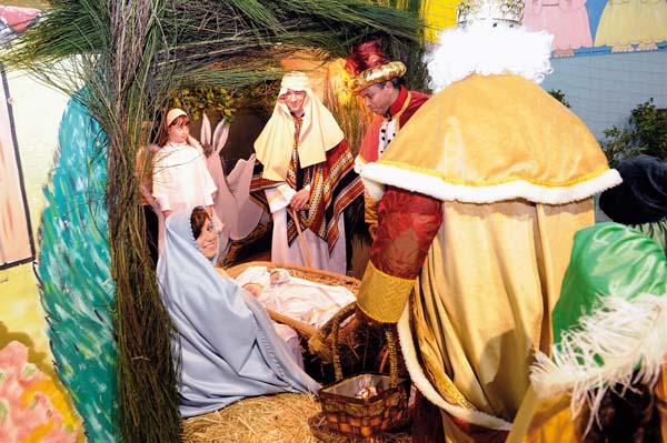 Photo of Visita dos Reis nunha noite máxica