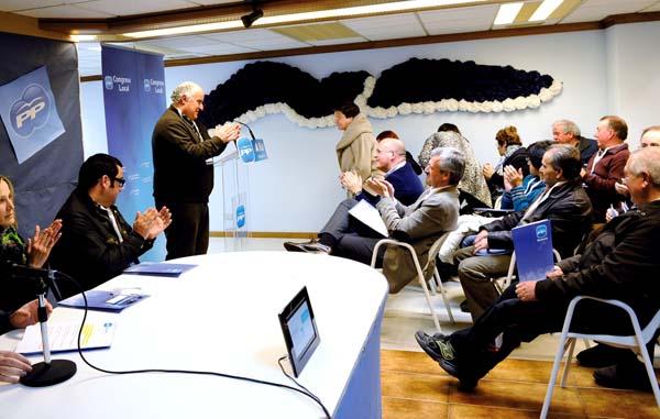 Photo of Avelino García, elexido presidente do PP de A Rúa