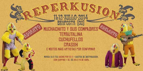 Photo of Festival Reperkusión 2014 en Bemposta (Ourense), do 11 ao 13 de xullo
