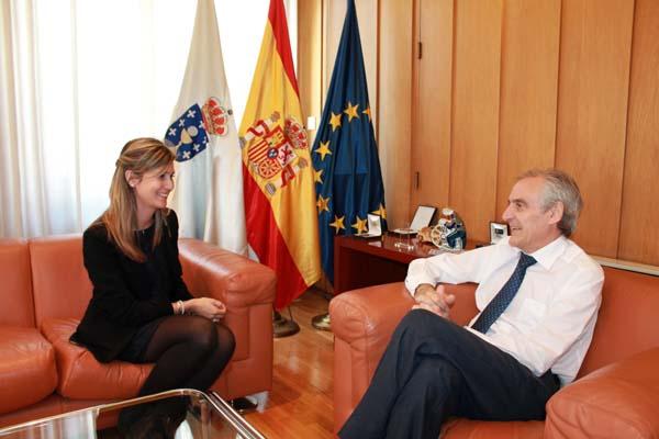 Photo of O subdelegado do Goberno reúnese coa nova directora do INSS