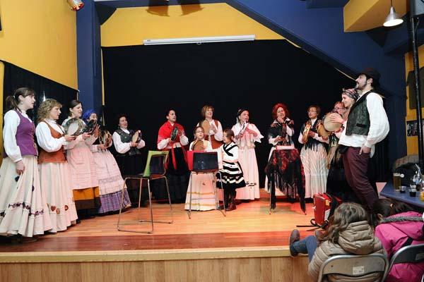 Cantareiras da Rebusca, no local da asociación./ Foto: Carlos G. Hervella