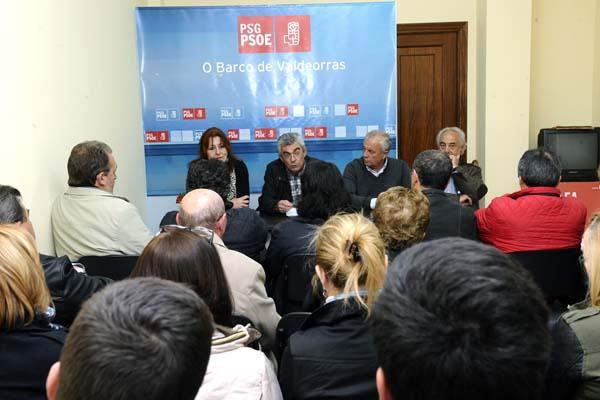 Photo of Reunión do comité provincial electoral do PSdeG no Barco