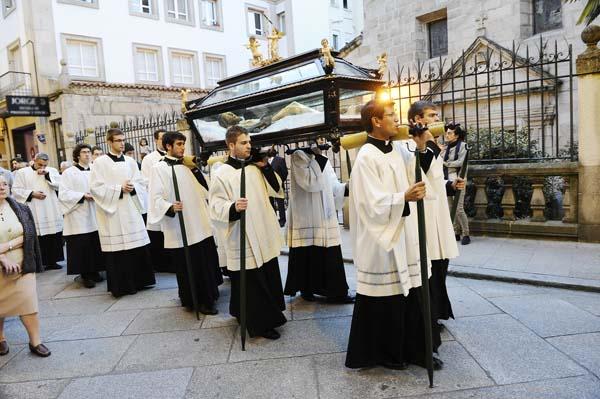 Photo of De procesións pola Semana Santa ourensá