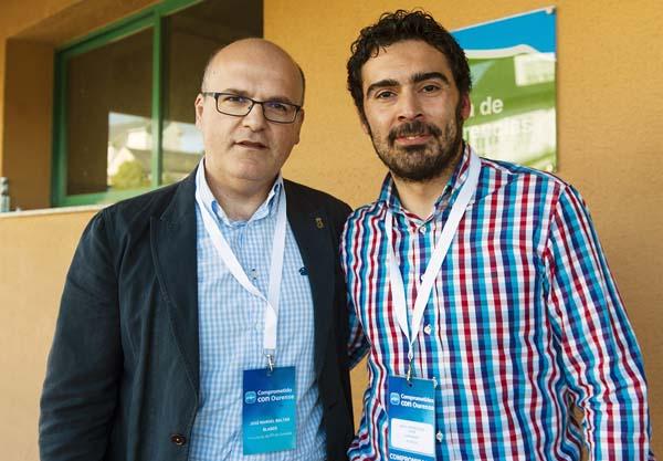 Baltar co presidente do PP da Veiga.
