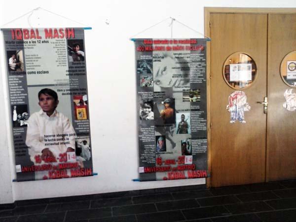 Photo of Mostra polo Día contra a escravitude infantil na Rúa
