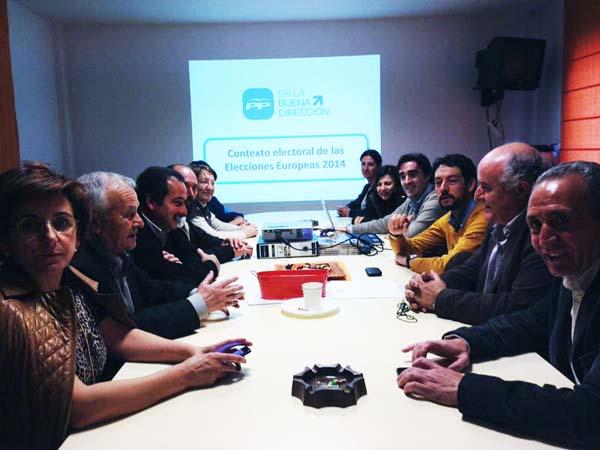 Photo of Preparando a campaña do PP en Valdeorras