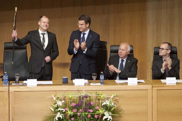 Photo of Mato enceta o seu segundo mandato como reitor da Universidade de Vigo