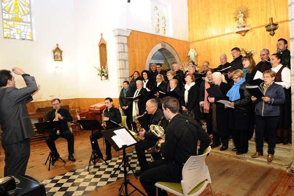 Photo of Música de saxofóns na Veiga
