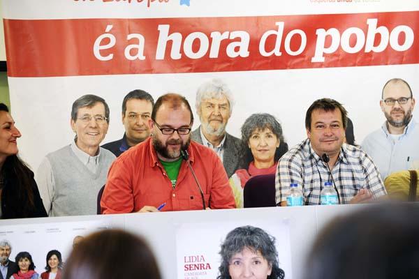 Juan Martínez e Carlos Lorenzo, candidatos de AGE.