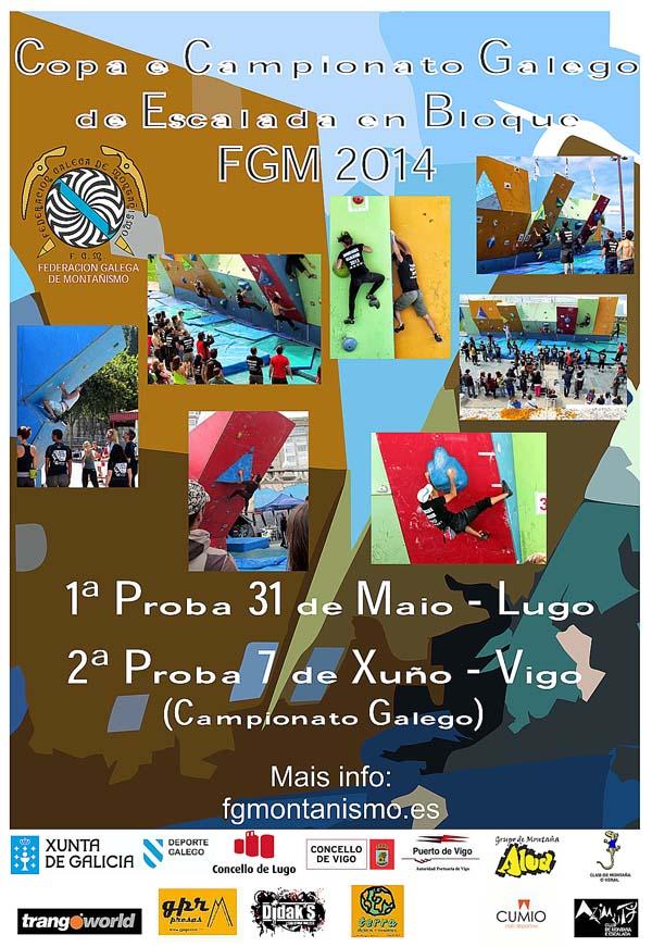 Cartaz desta competición galega.