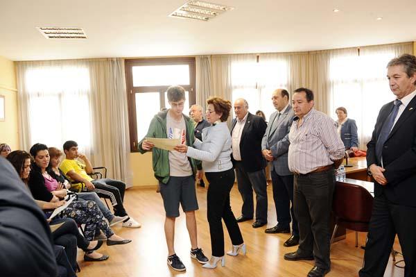 Photo of Entrega de diplomas dos obradoiros Laborán e Sil, en Valdeorras