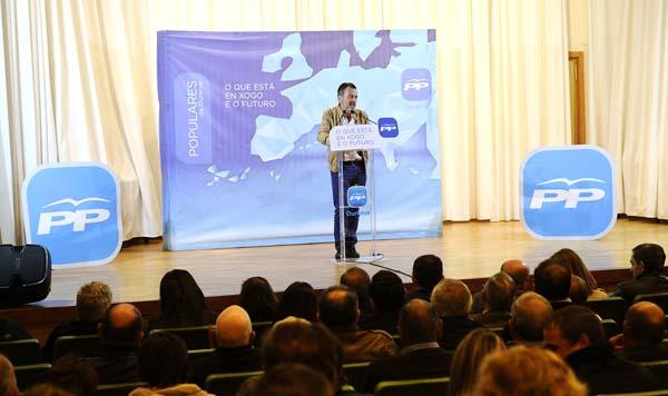 Agustín Hernández na súa intervención.