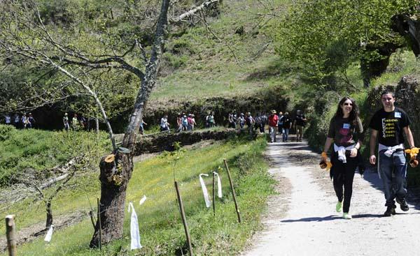 Photo of Máis de 500 persoas na Ruta dos Fornos de Celavente (O Bolo)