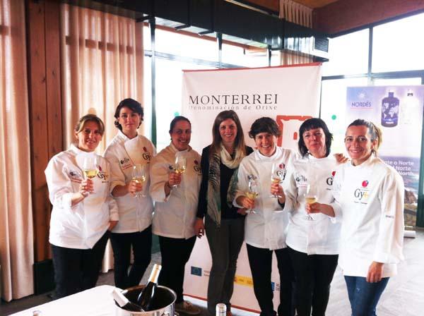 """Photo of A D.O. Monterrei, en """"Cociñeiras con estrelas"""""""