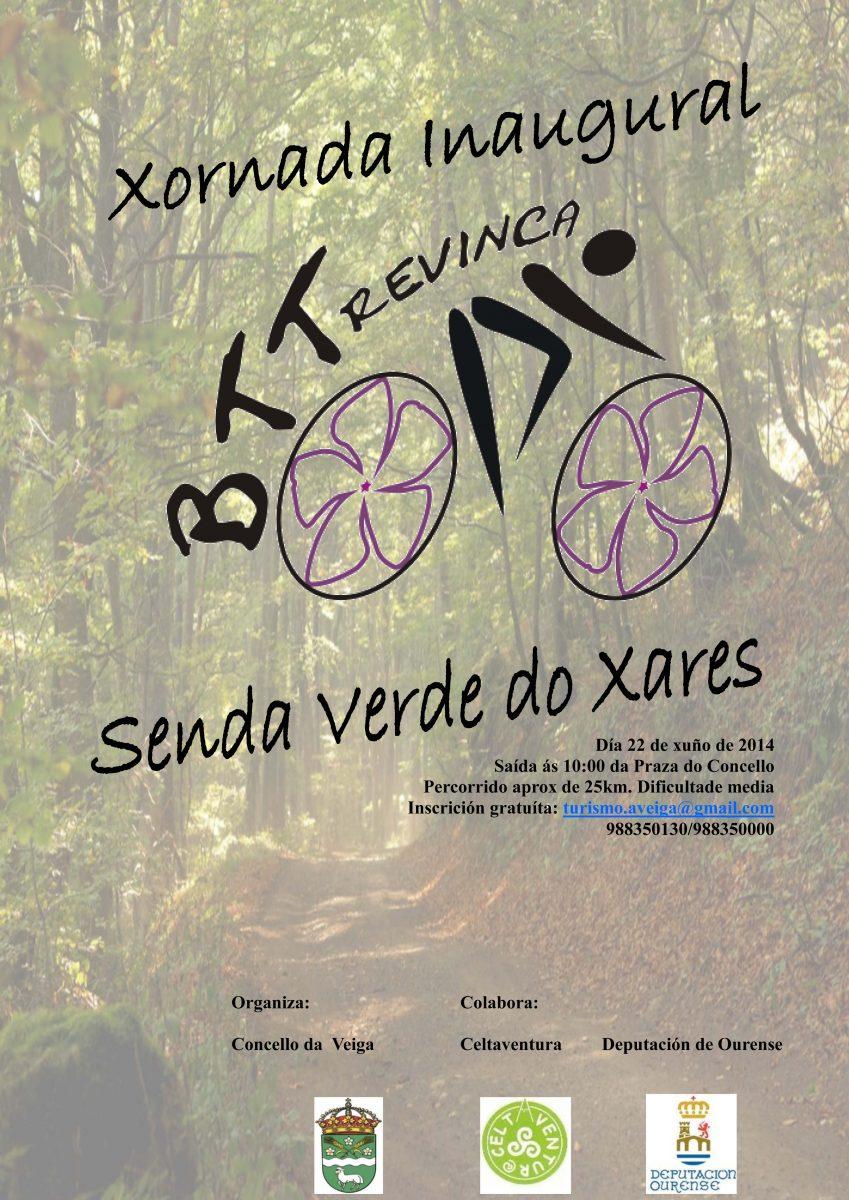 Photo of Ruta  BTT pola Senda Verde do Xares na Veiga