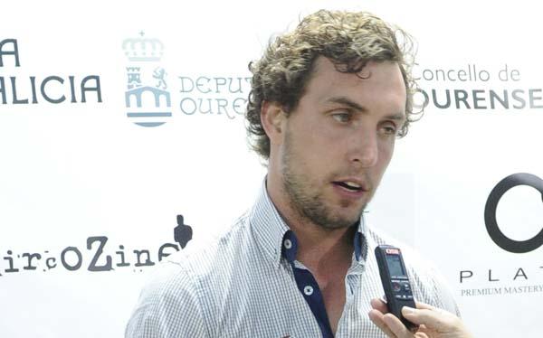 O actor e director Rubén Riós, un dos galardoados nesta edición pola AECC de Ourense.