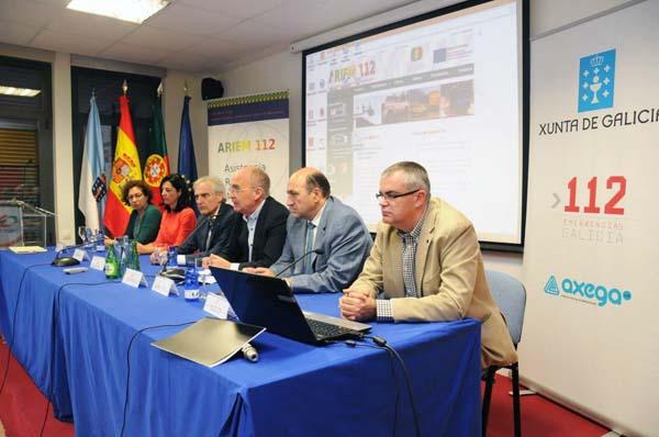 Photo of Xornadas de cooperación transfronteiriza en emerxencias, en Verín