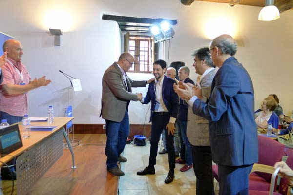 Photo of Moisés Blanco, elixido presidente do PP do Barco