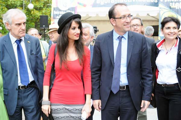 Entre as autoridades asistentes á inauguración estiveron o subdelegado do Goberno en Ourense e o secretario xeral de Cultura.
