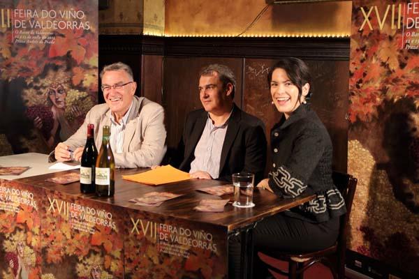 Photo of Cristina Pato respalda a presentación da Feira do Viño de Valdeorras en Ourense