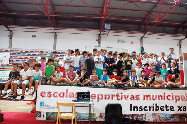 Photo of Fin de curso das Escolas Deportivas Municipais do Barco