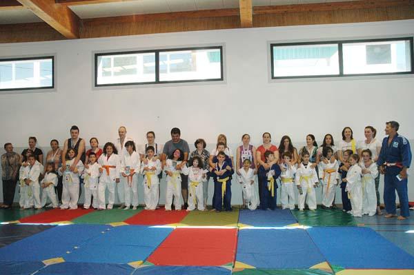 Photo of Exhibición de judo en Valdeorras
