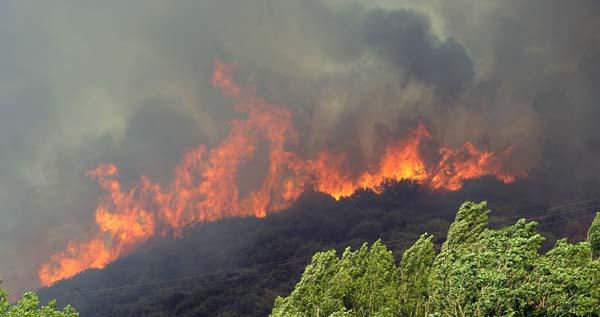Photo of Unha vez máis, Valdeorras golpeada polos lumes
