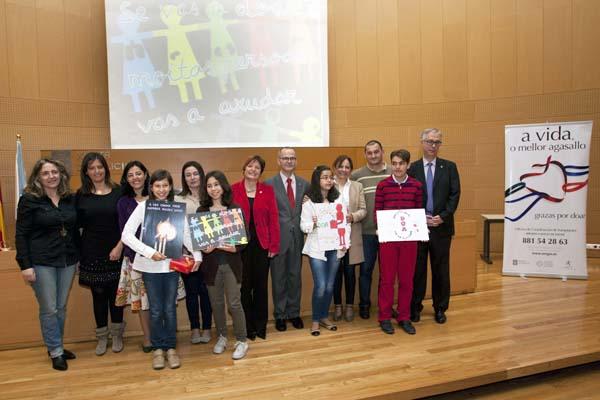 Photo of Premios, no Día Nacional do Doador