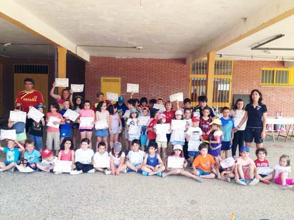 Photo of Diplomas fin de curso nas escolas deportivas de Trives