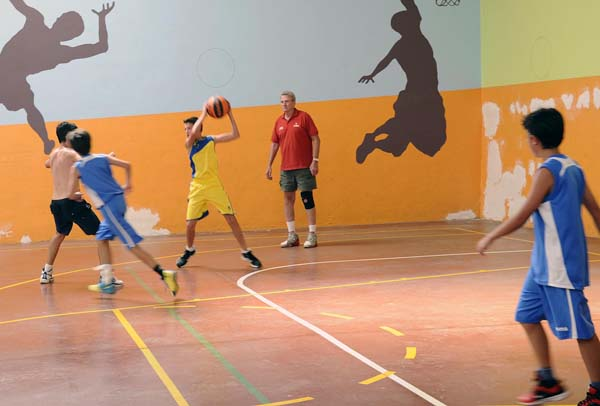 Photo of Arranca o campus de baloncesto da Rúa