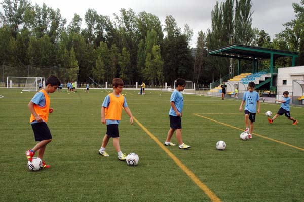 Photo of O campus de fútbol da Rúa celebra o X aniversario