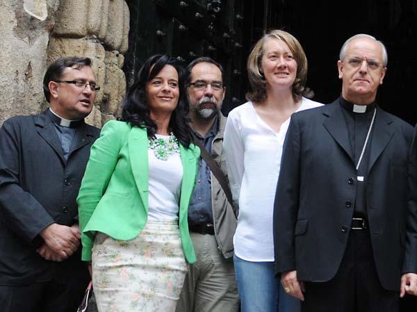 Visita á Catedral de Ourense.