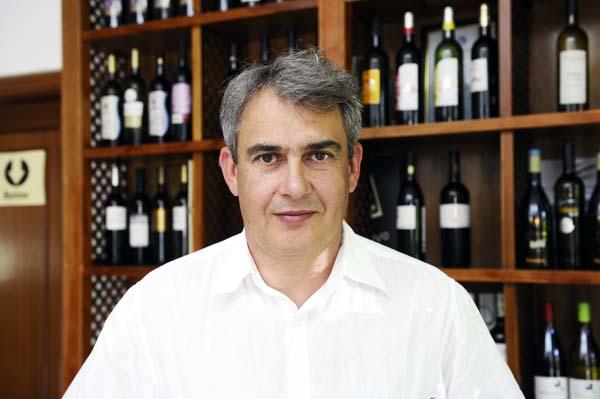 O presidente do Consello Regulador da D.O. Valdeorras./ Foto: Carlos G. Hervella