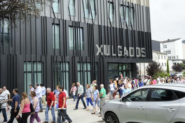 Photo of Comezan as mobilizacións en defensa do partido xudicial do Barco