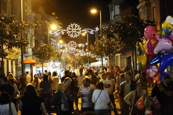 A Rúa en festas. /Foto: Carlos G. Hervella
