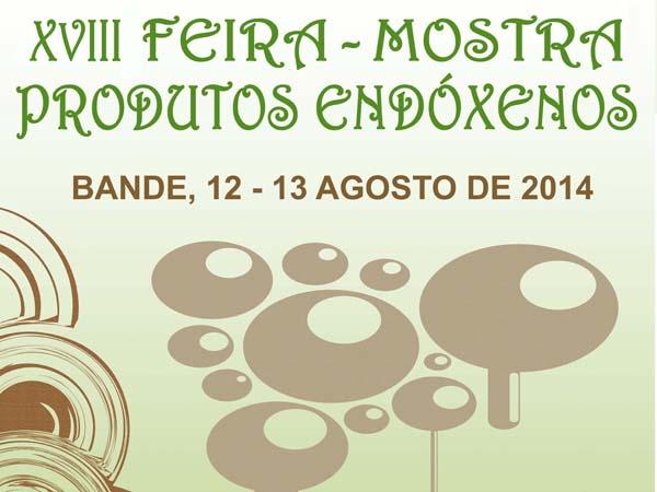 Photo of Mostra de produtos endóxenos en Bande