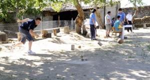 Torneo de bolos en Punxeiro (Viana)