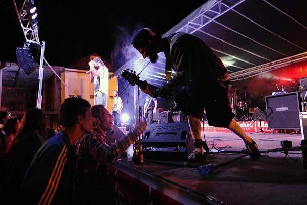As bandas entregáronse no VII Vilarock/Foto: Carlos G. Hervella