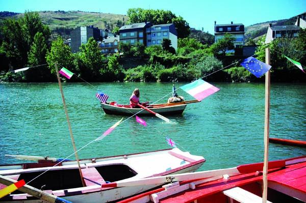 Procesión da Virxe da Barca o ano pasado/Foto: Ángeles Rodríguez