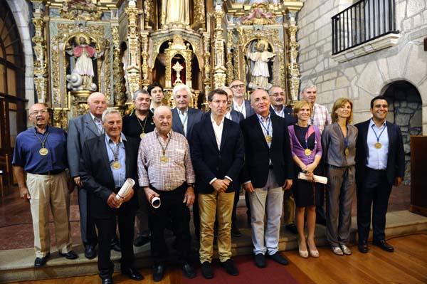 Photo of A Confraría dos Viños de Monterrei recibe a catro novos membros