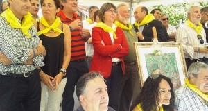 Rosa Quintana, na XXV Festa da Vendima de Leiro