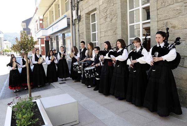 Photo of A Banda de Gaitas San Martiño cumpre 22 anos