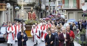 O Carballiño venera a San Cibrao