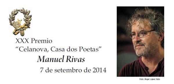 "Photo of XXX Premio ""Celanova, Casa dos Poetas"" para Manuel Rivas"