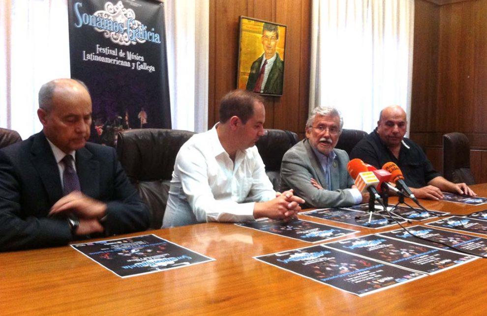 Presentación do festival na Deputación de Ourense.
