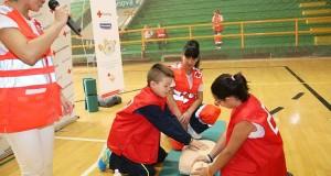 Clase de primeiros auxilios en Verín